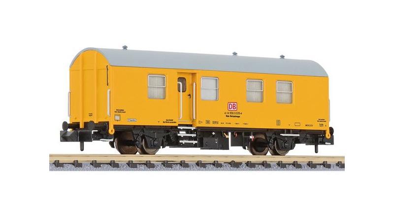 Umbau-Bahndienstwagen, Wohn-Werkstattwagen, DB AG, Spur N