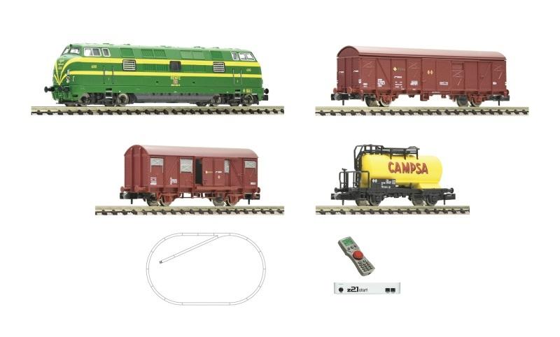 z21 start Digitalset: Diesellok 340 mit Güterzug, RENFE, N