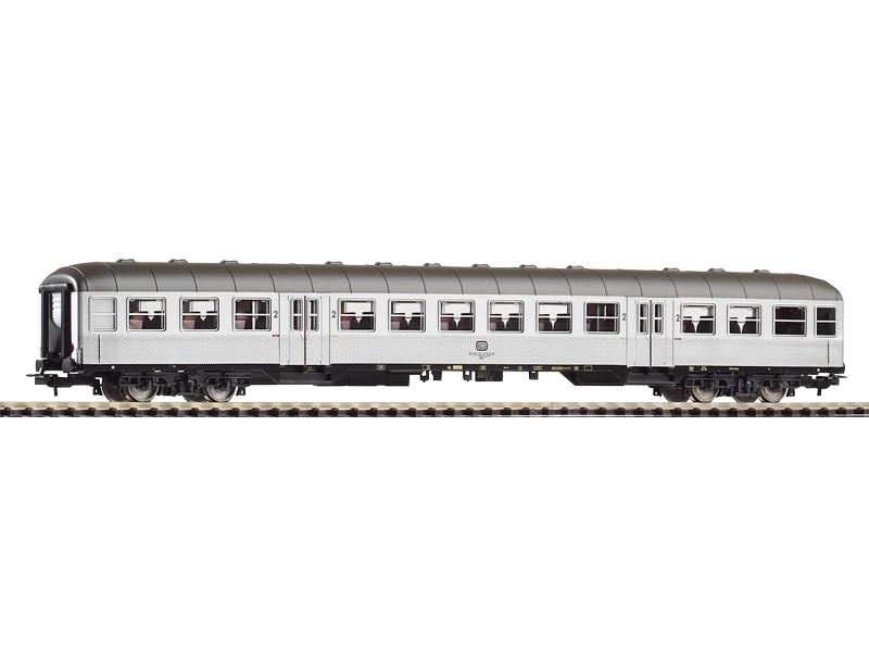 Nahverkehrswagen Silberling 1./2. Klasse ABnrb704, Ep. IV,H0