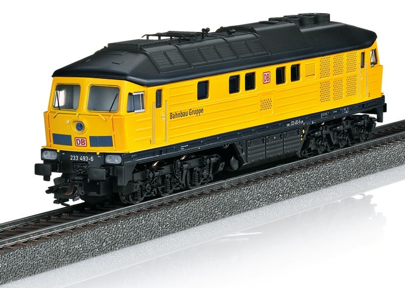 Sound-Diesellok BR 233 Tiger der DB AG, Epoche VI, Spur H0