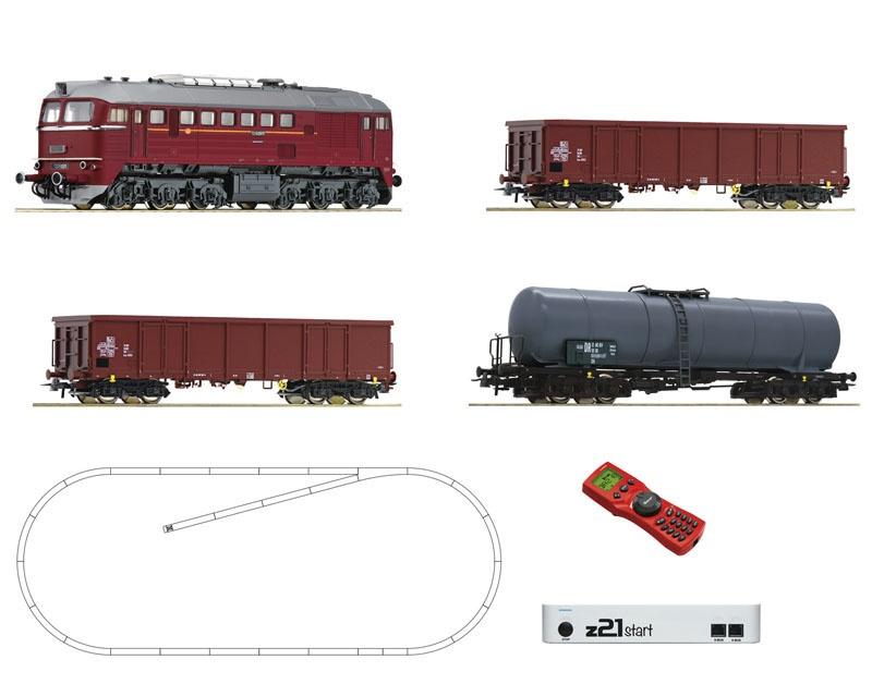 z21 start Digitalset: Diesellok BR 120 mit Güterzug, DC, H0
