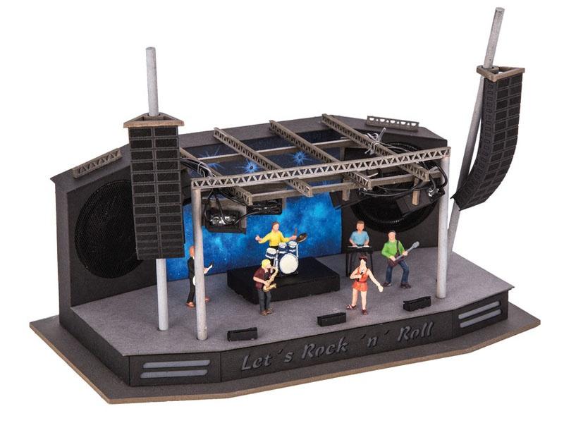micro-motion Rock-Festival Laser-Cut Bausatz Spur H0
