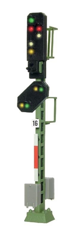 Licht-Ausfahrsignal mit Vorsignal, Spur N
