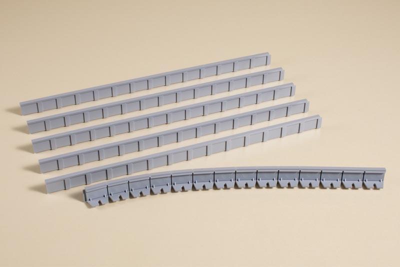 Bahnsteigkanten 13 mm, Bausatz, Spur H0