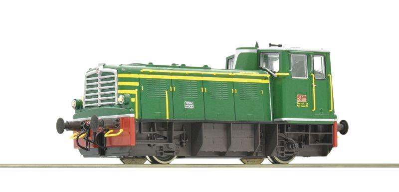 Diesellokomotive D.225.6000 der FS, DC, Sound, Spur H0