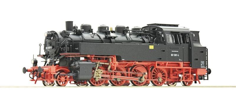 Dampflokomotive BR 86 der DR, DC, Spur H0