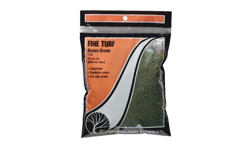 Streumaterial für Gras, mittelgrün, fein, 52 g