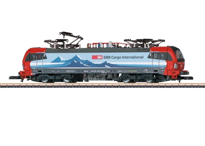 Elektrolokomotive BR 193 der SBB Cargo International, Spur Z