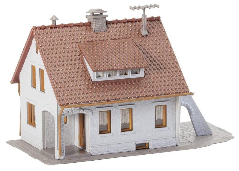 Einfamilienhaus Bausatz, Spur H0