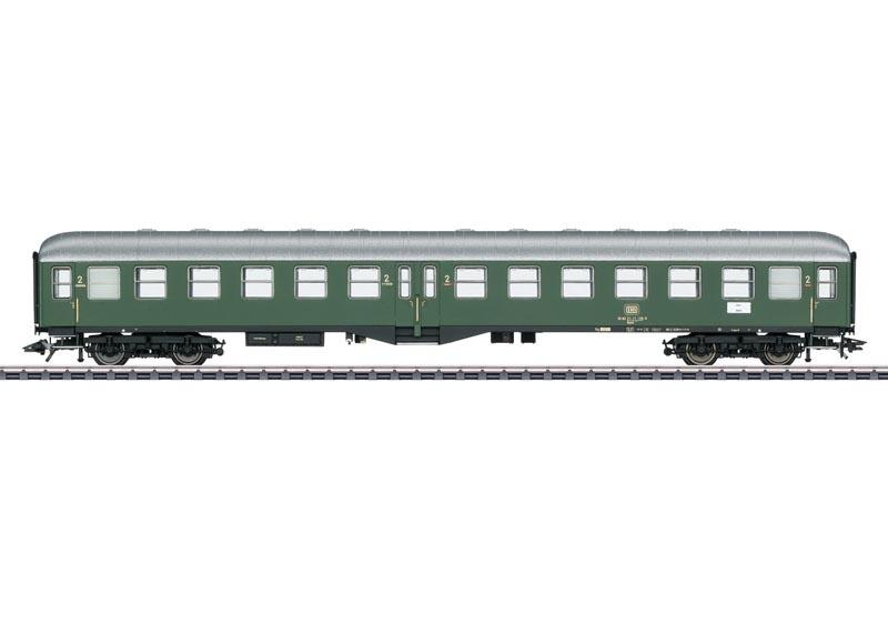 Personenwagen 2. Klasse der DB, AC, Spur H0