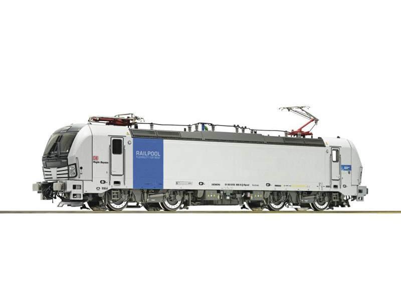 Elektrolokomotive 193 805 der Railpool, Sound, DC, Spur H0