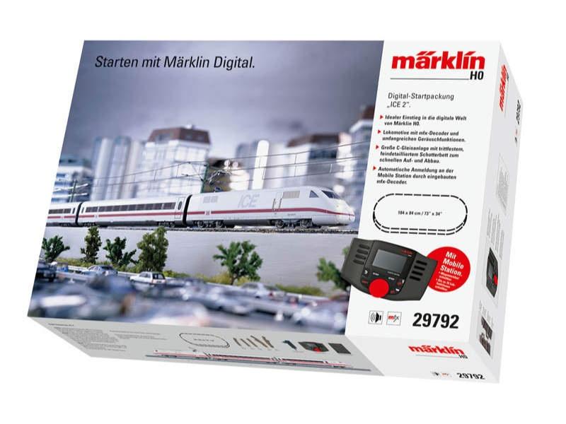 Digital-Startpackung ICE 2 DB AG mfx C-Gleis H0