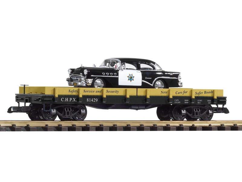 Autotransportwagen mit DieCast Cruiser, Spur G