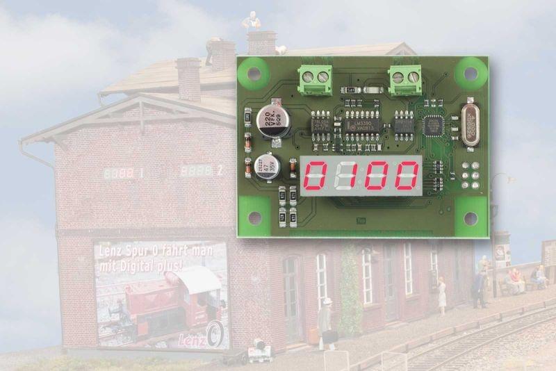 LRC120 RailCom Adress-und Anzeigemodul für Lokerkennung,