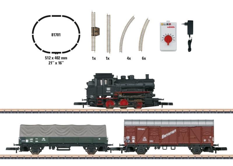 Startpackung Güterzug BR 89 1 x Lok, 2 x Wagen DB Spur Z