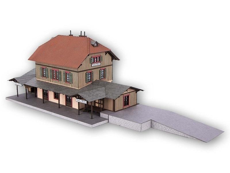 Bahnhof Honau Laser-Cut Bausatz Spur H0