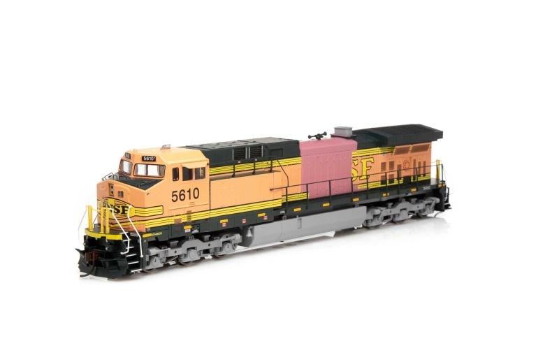 Diesellokomotive AC4400CW #5610 der BNSF, DC, Spur H0
