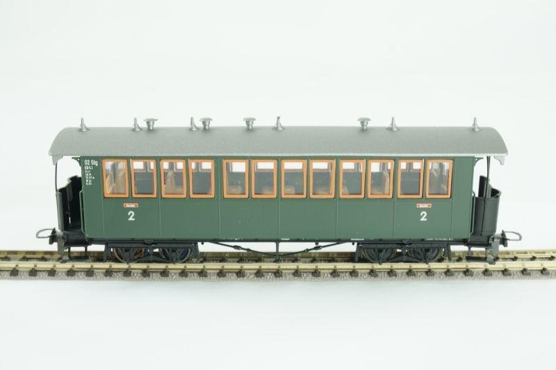 4-achsiger Personenwagen KB4i 02 der DB, Spur H0e