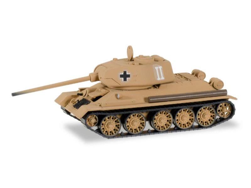 Beutepanzer T-34/85 Schlacht um Ostpreußen 1:87 / H0