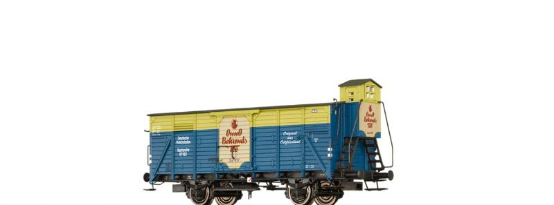 Gedeckter Güterwagen G10 Onno Behrends Tee DRG, DC, H0