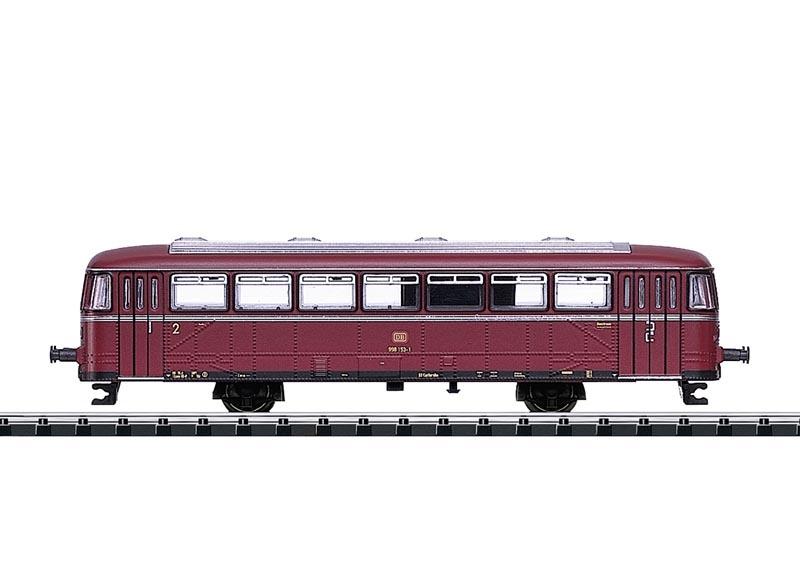 Schienenbus-Beiwagen (VB) 98 134 der DB, Minitrix Spur N