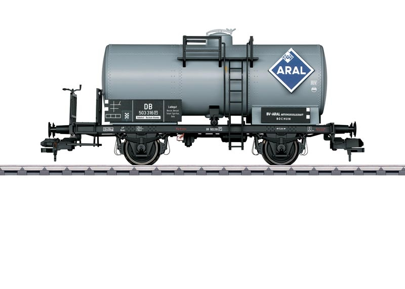 Privat-Kesselwagen Aral der DB, Spur 1
