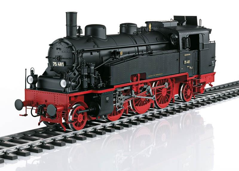 Tender-Dampflokomotive BR 75.4 DRG Sound mfx Spur 1