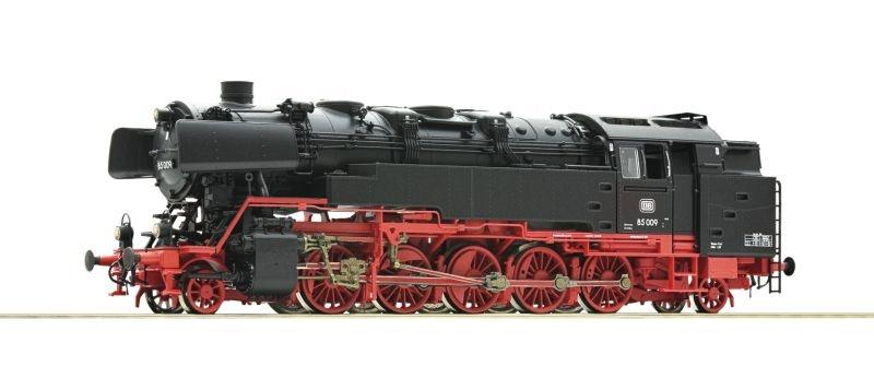 Dampflok 85 009 der DB, Sound+Dampf, AC, Spur H0