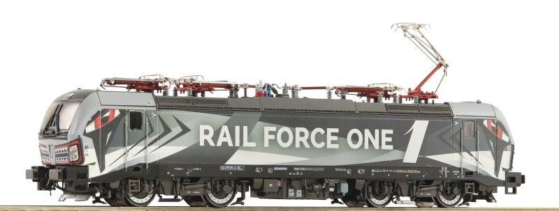 Elektrolokomotive 193 623-6 der Rail Force One, DC, Spur H0