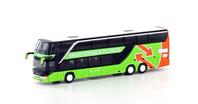 Setra S 431DT Flixbus / MeinFernbus, grün, Spur N