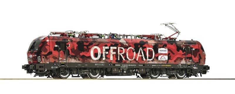 E-Lok 193 555 der TX-Logistik, Offroad, Sound, DC, Spur H0