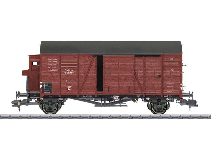 Gedeckter Güterwagen Grhs Oppeln DRG Spur 1
