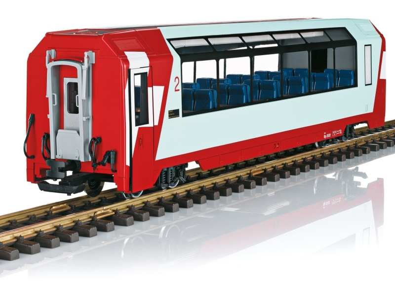 RhB Panoramawagen 2. Klasse, Spur G