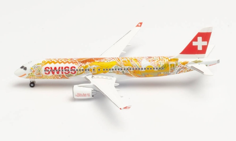 Swiss International Air Lines Airbus A220-300, 1:500