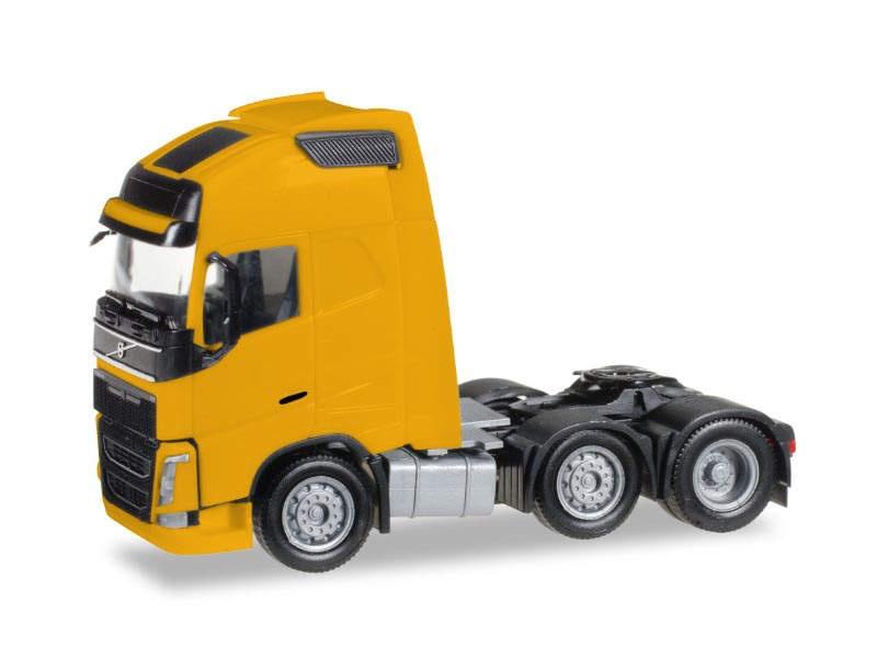Volvo FH Gl. XL 6x2 Zgm, gelb, 1:87 / Spur H0