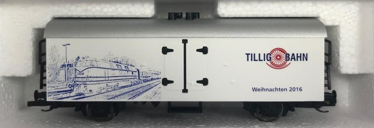 Kühlwagen Danke 2016, Spur TT