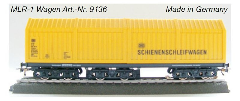 MLR-1 Mittelleiterreiniger SSF-09 Steuerelektronik, AC, H0