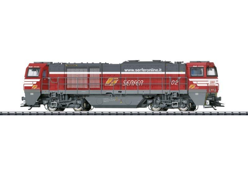 Schwere Diesellok Vossloh G 2000 BB, SERFER, DCC, mfx, H0