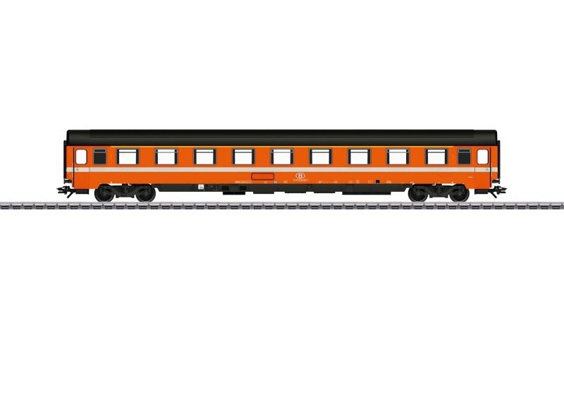 Personenwagen AI6 1. Klasse der SNCB, AC, Spur H0