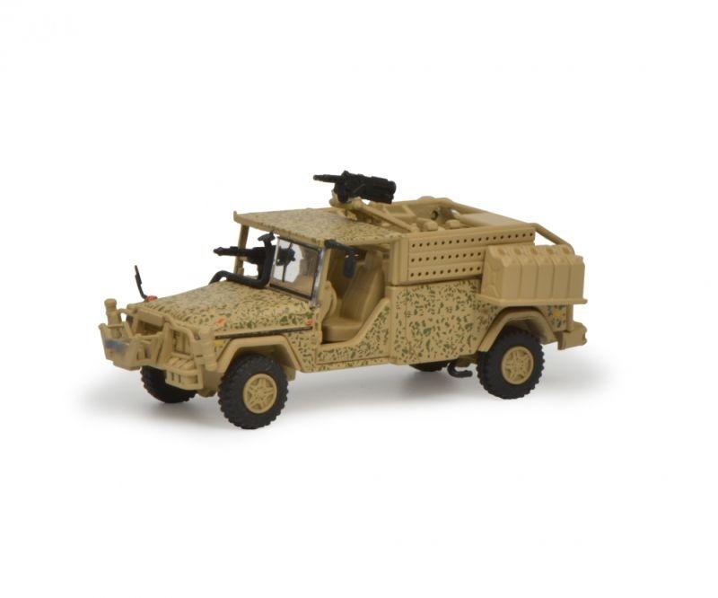 Serval ISAF KSK, flecktarn 1:87 / Spur H0
