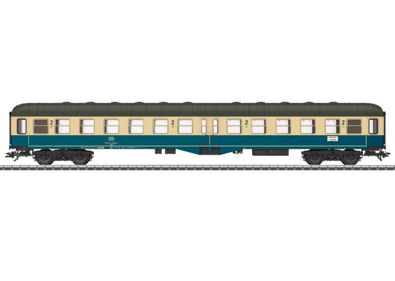 Eilzugwagen Bylb 421 der DB, LED, AC, Spur H0