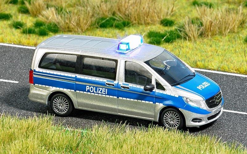 Mercedes V-Klasse Polizei, Spur H0