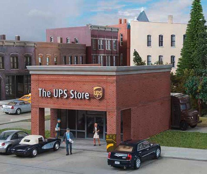 UPS Store, Bausatz, Spur H0