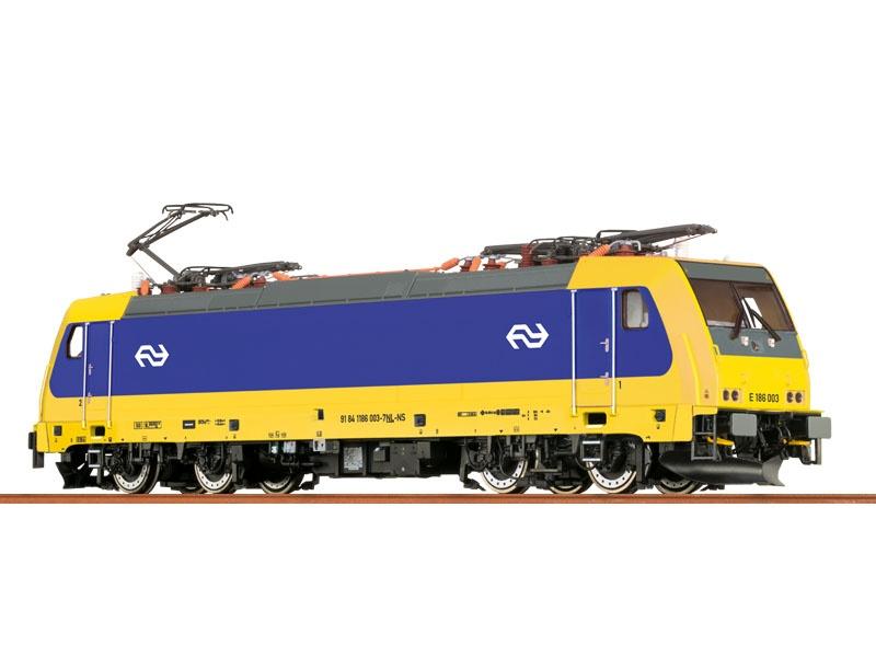 E-Lok BR186 der NS, VI, DC Analog BASIC+, H0