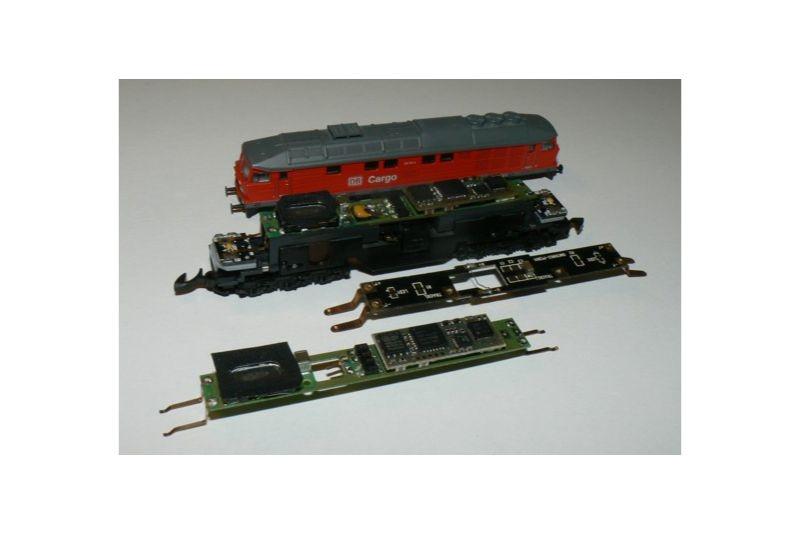 Soundlokdecoder DCC / SX für BR232, BR234, DR132, Spur Z