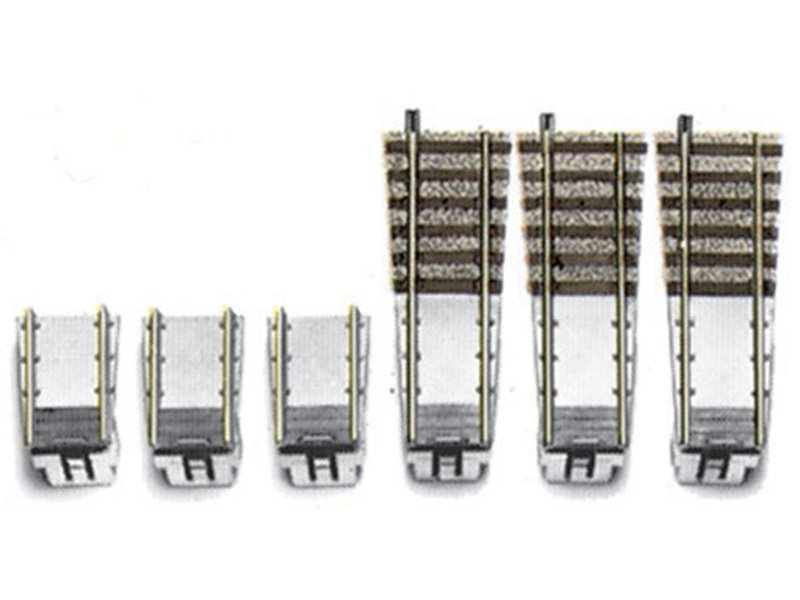 Ergänzungs-Set für PROFI-Gleis-Drehscheibe 6152 H0