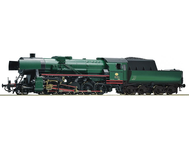 Dampflokomotive 26.101 der PFT-TSP, DC, Spur H0