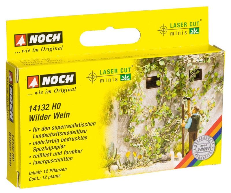 Wilder Wein (12 Pflanzen) Laser-Cut minis Spur H0