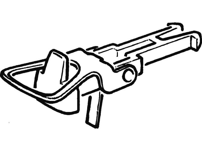 Standard-Bügelkupplungsköpfe H0