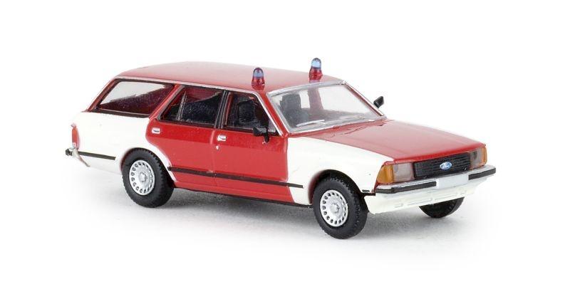 Ford Granada II Turnier, Feuerwehr, TD, 1:87 / Spur H0